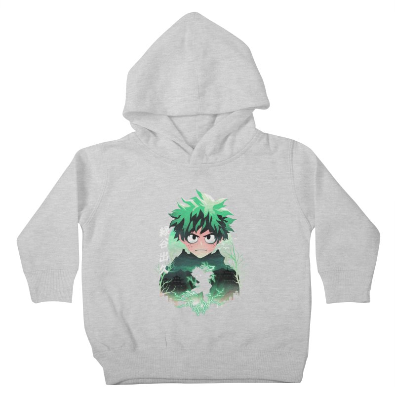Deku Sunset Kids Toddler Pullover Hoody by dandingeroz's Artist Shop