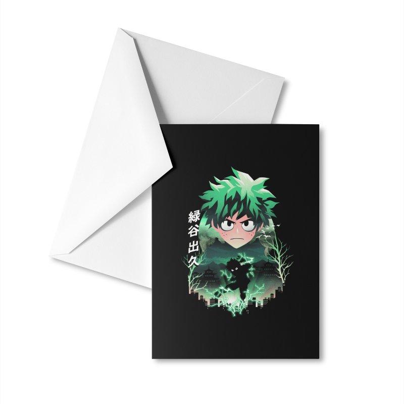 Deku Sunset Accessories Greeting Card by dandingeroz's Artist Shop