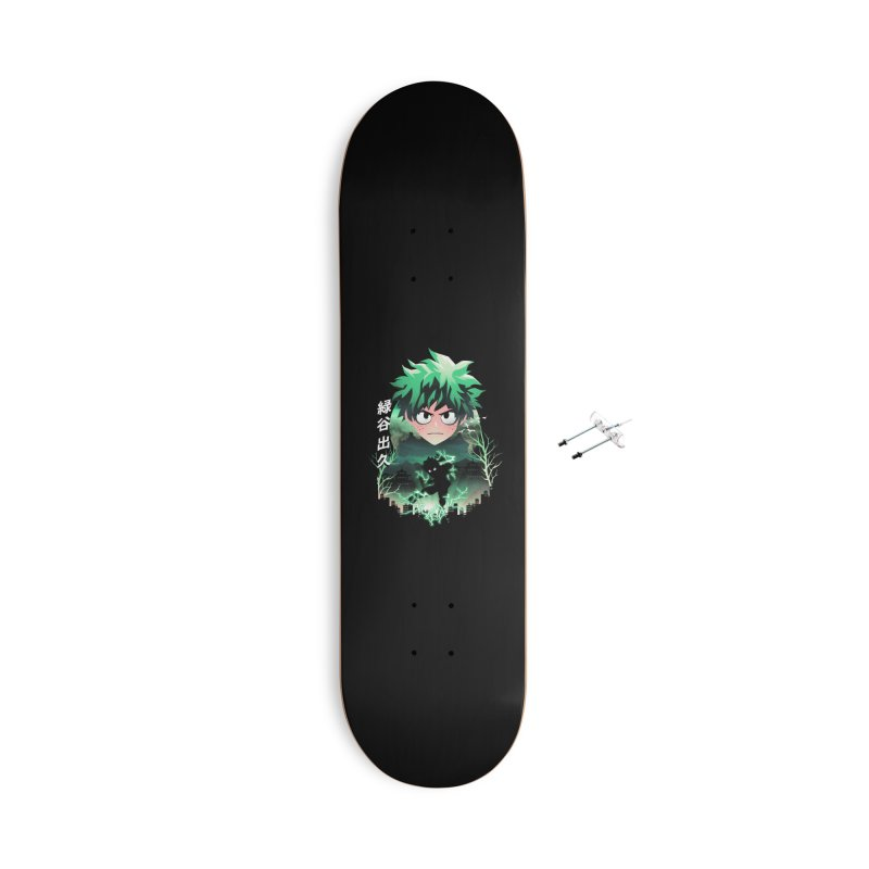 Deku Sunset Accessories Skateboard by dandingeroz's Artist Shop