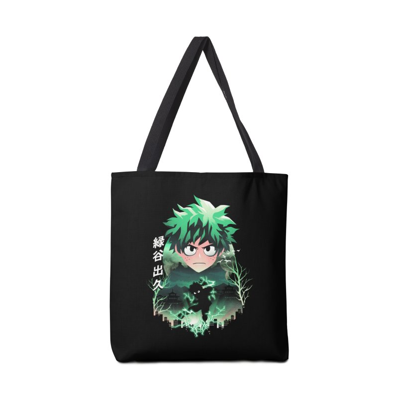 Deku Sunset Accessories Bag by dandingeroz's Artist Shop