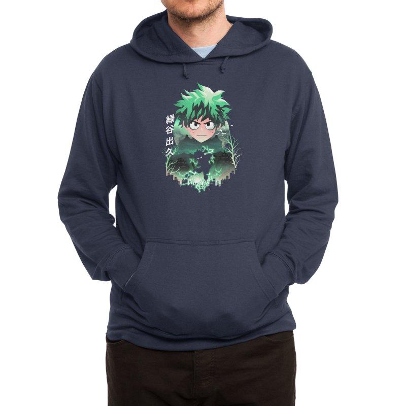 Deku Sunset Men's Pullover Hoody by dandingeroz's Artist Shop