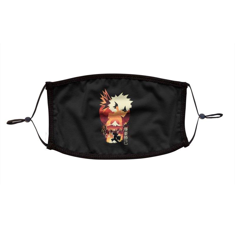 Bakugou Sunset Accessories Face Mask by dandingeroz's Artist Shop
