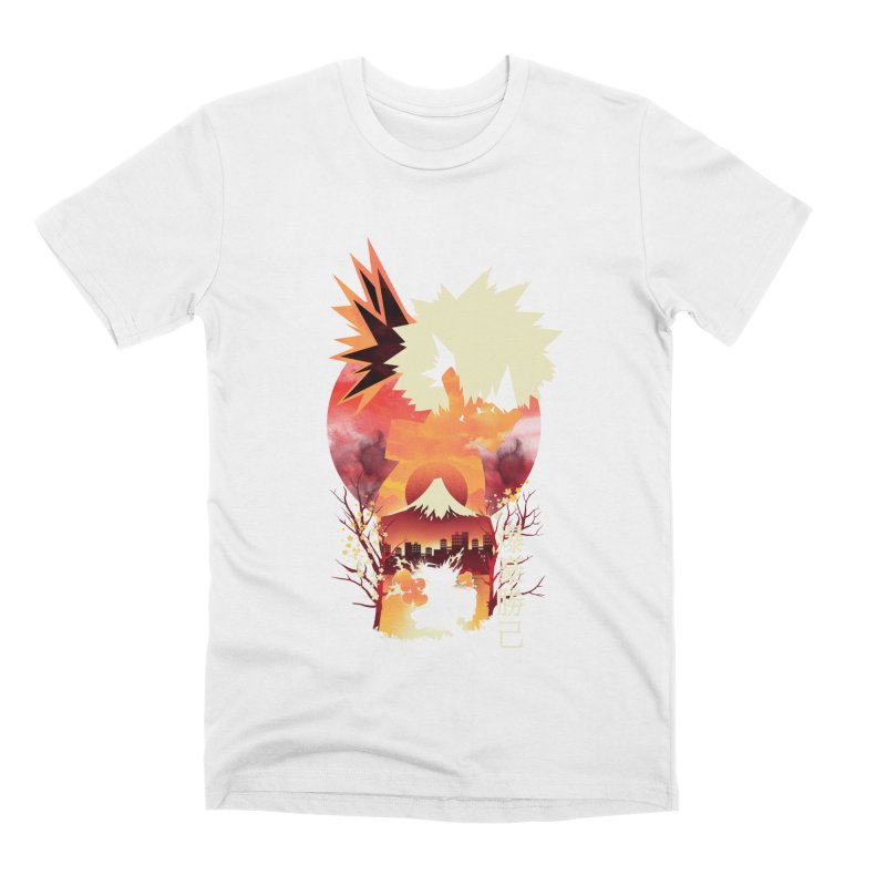 Bakugou Sunset Men's T-Shirt by dandingeroz's Artist Shop