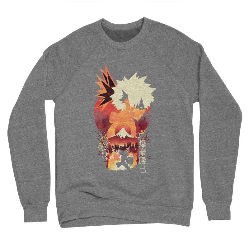 Bakugou Sunset Men's Sweatshirt by dandingeroz's Artist Shop