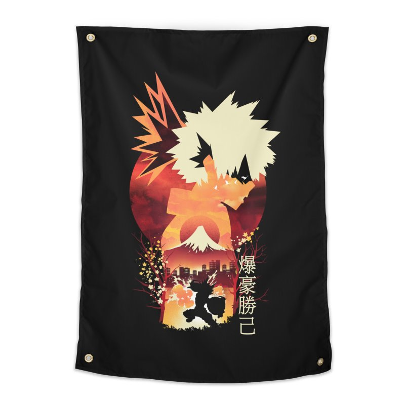 Bakugou Sunset Home Tapestry by dandingeroz's Artist Shop