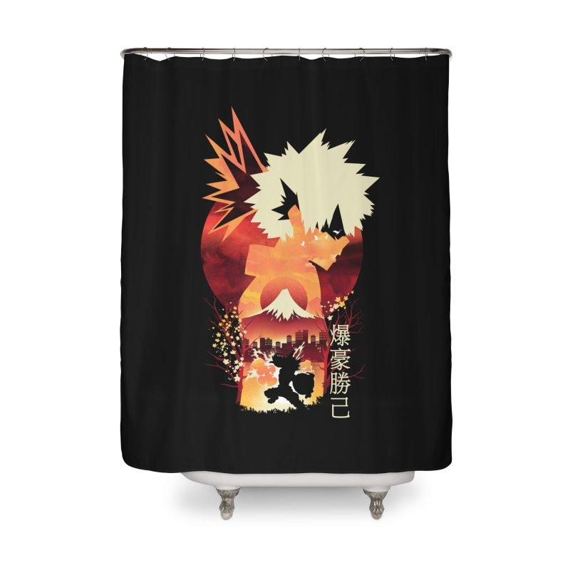 Bakugou Sunset Home Shower Curtain by dandingeroz's Artist Shop