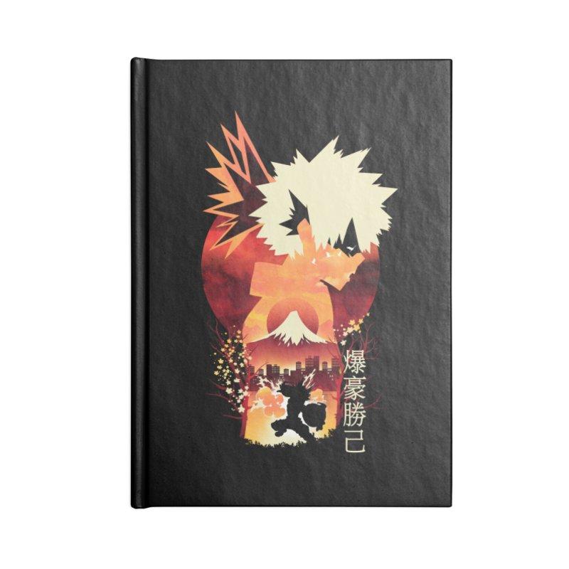 Bakugou Sunset Accessories Notebook by dandingeroz's Artist Shop