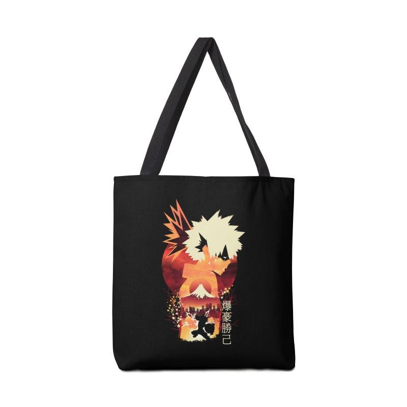 Bakugou Sunset Accessories Bag by dandingeroz's Artist Shop
