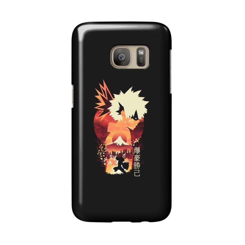 Bakugou Sunset Accessories Phone Case by dandingeroz's Artist Shop