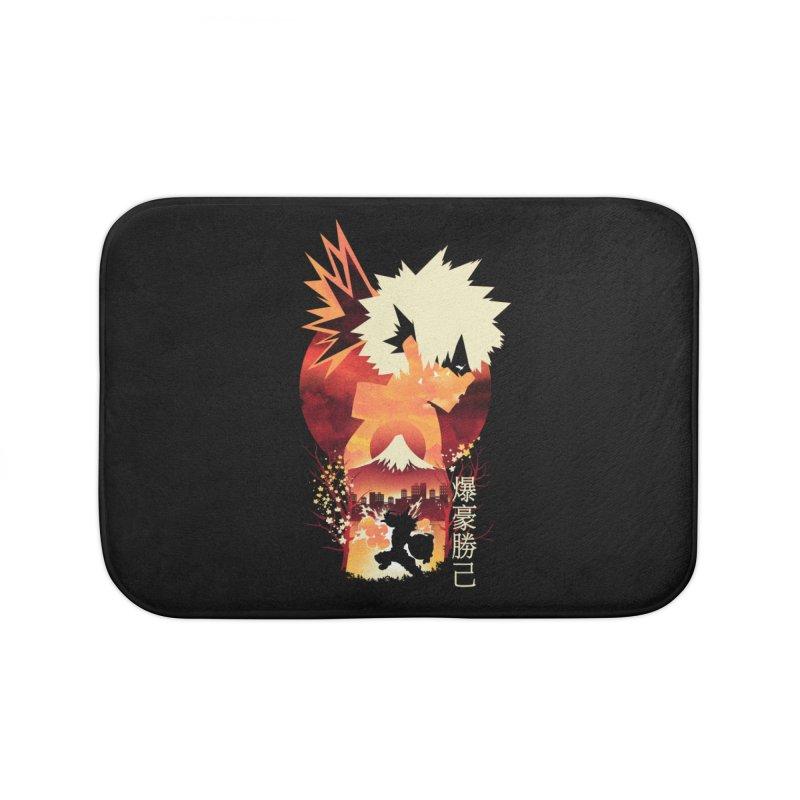 Bakugou Sunset Home Bath Mat by dandingeroz's Artist Shop