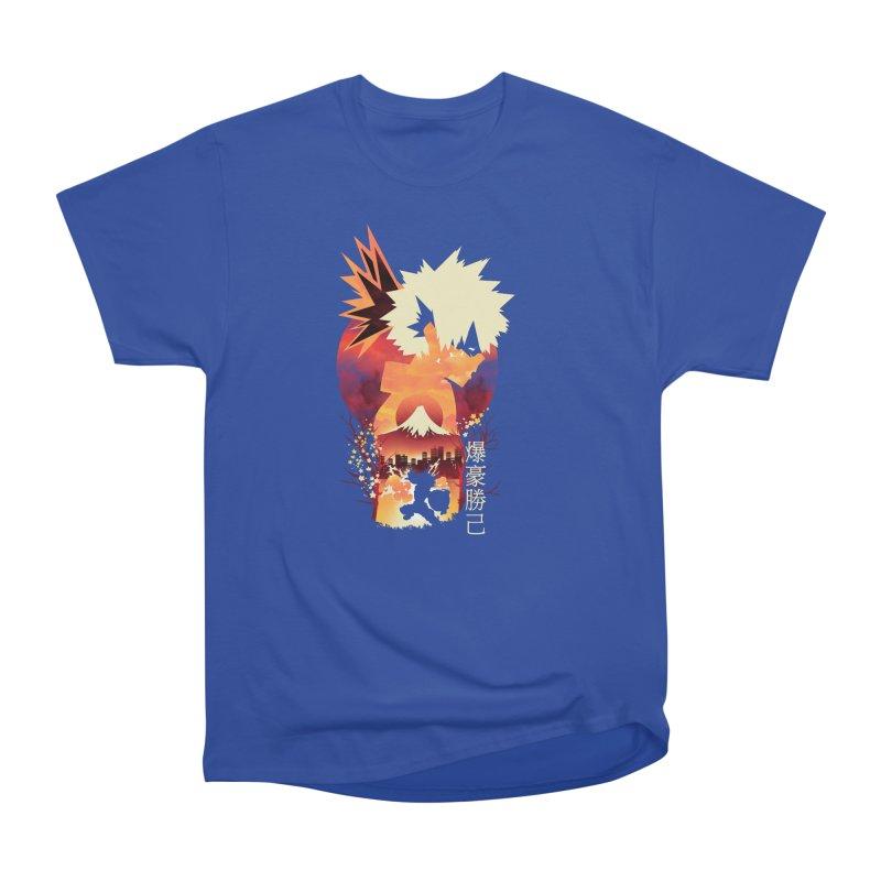 Bakugou Sunset Women's T-Shirt by dandingeroz's Artist Shop