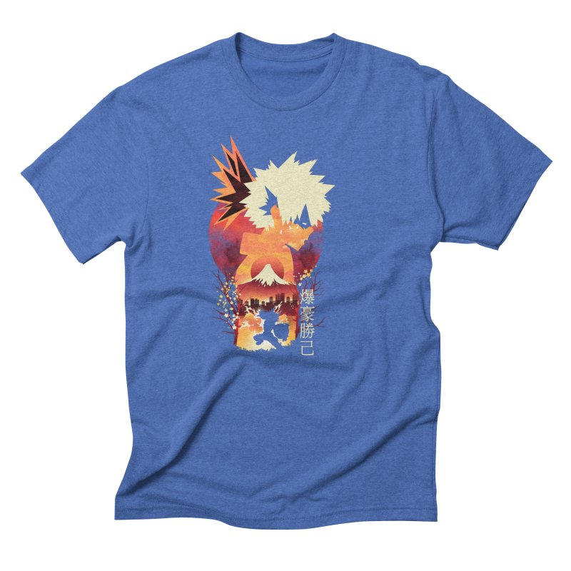 Bakugou Sunset Men's T-Shirt by dandingeroz's Artist Shop