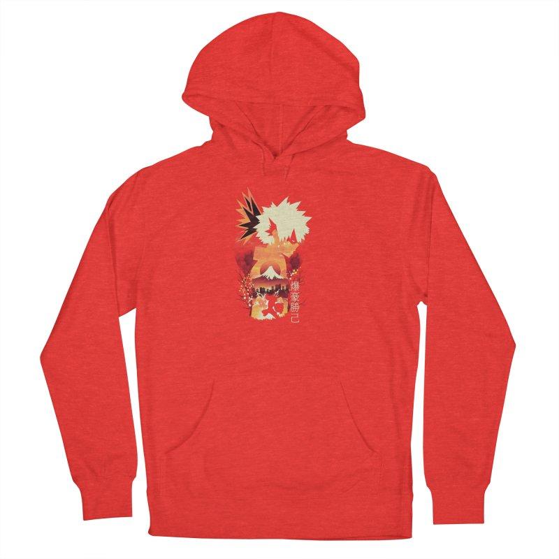 Bakugou Sunset Men's Pullover Hoody by dandingeroz's Artist Shop
