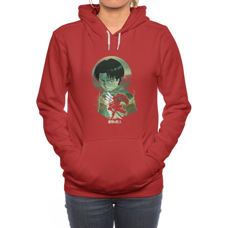 Levi Sunset Women's Pullover Hoody by dandingeroz's Artist Shop