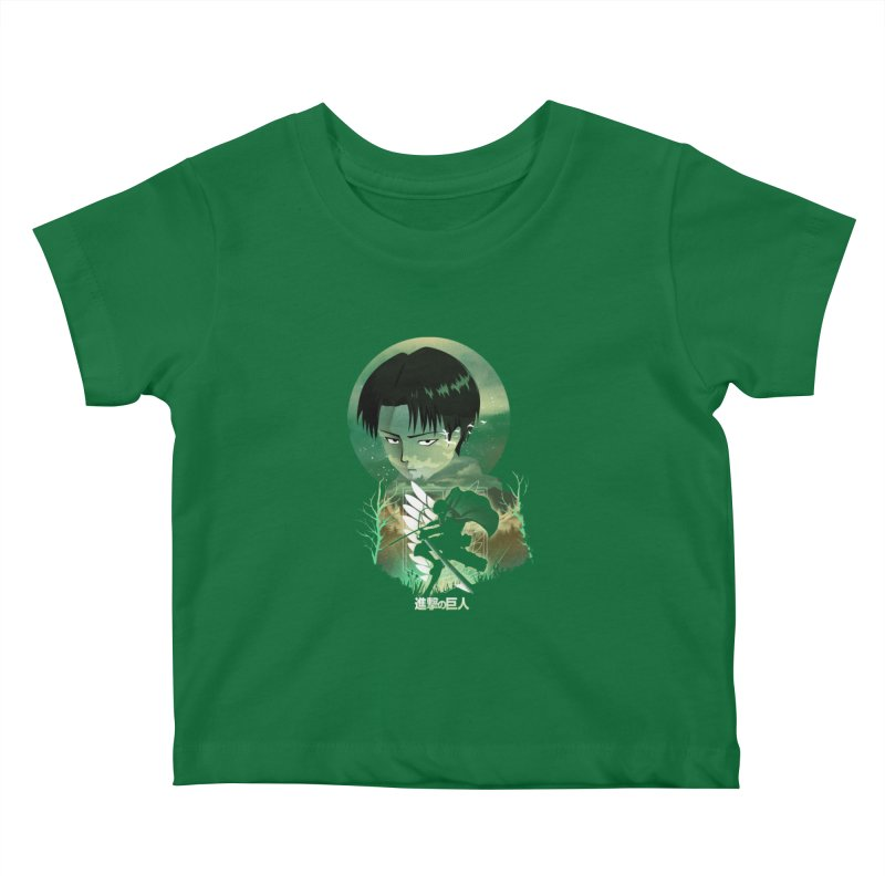 Levi Sunset Kids Baby T-Shirt by dandingeroz's Artist Shop