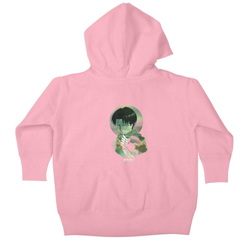 Levi Sunset Kids Baby Zip-Up Hoody by dandingeroz's Artist Shop