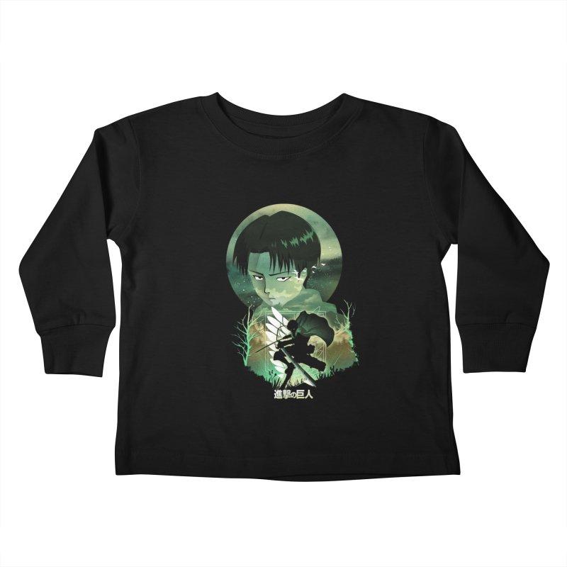 Levi Sunset Kids Toddler Longsleeve T-Shirt by dandingeroz's Artist Shop