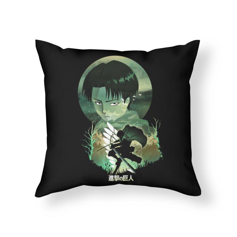 Levi Sunset Home Throw Pillow by dandingeroz's Artist Shop