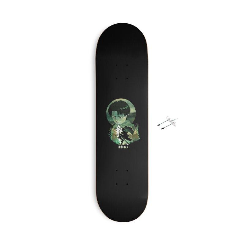 Levi Sunset Accessories Skateboard by dandingeroz's Artist Shop