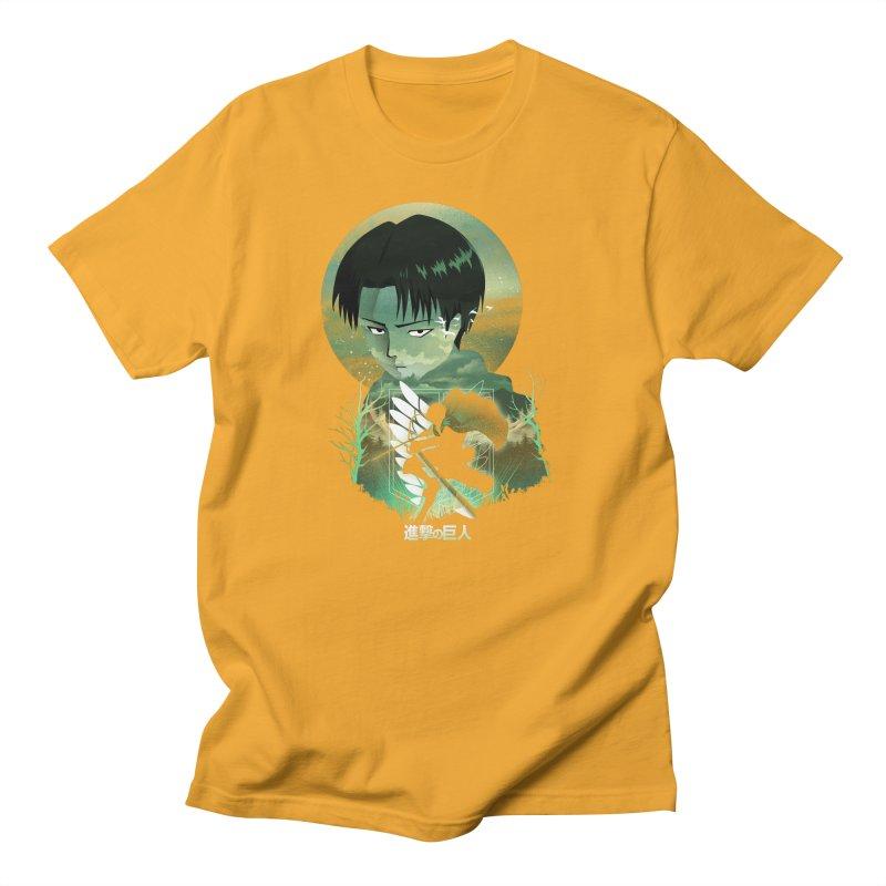 Levi Sunset Men's T-Shirt by dandingeroz's Artist Shop