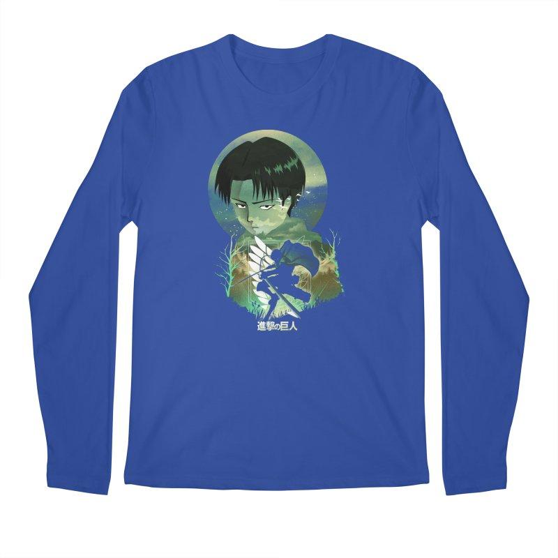 Levi Sunset Men's Longsleeve T-Shirt by dandingeroz's Artist Shop