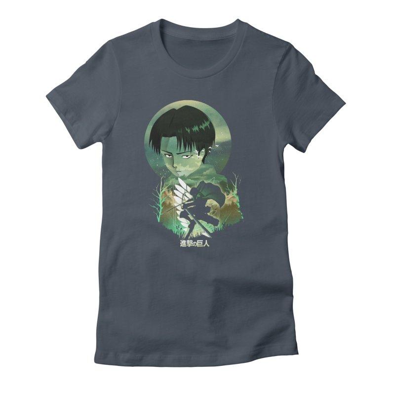 Levi Sunset Women's T-Shirt by dandingeroz's Artist Shop