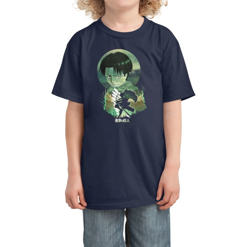 Levi Sunset Kids T-Shirt by dandingeroz's Artist Shop