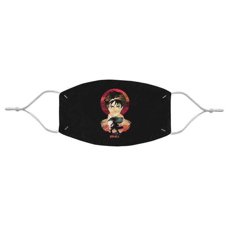 Eren Sunset Accessories Face Mask by dandingeroz's Artist Shop