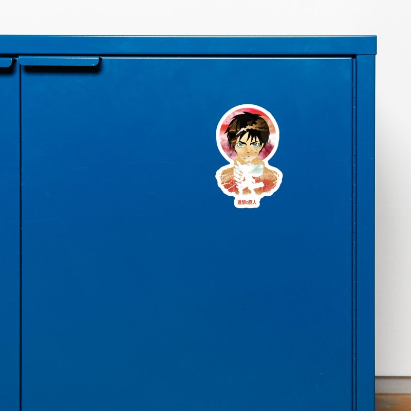 Eren Sunset Accessories Magnet by dandingeroz's Artist Shop