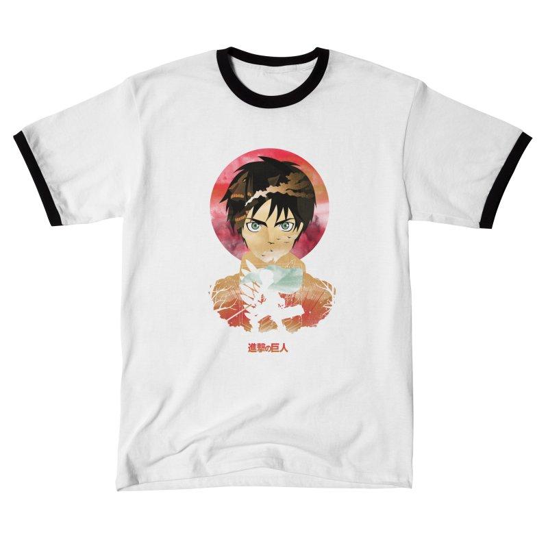 Eren Sunset Women's T-Shirt by dandingeroz's Artist Shop