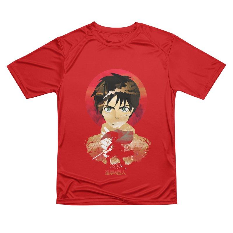Eren Sunset Men's T-Shirt by dandingeroz's Artist Shop