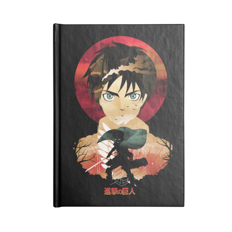 Eren Sunset Accessories Notebook by dandingeroz's Artist Shop