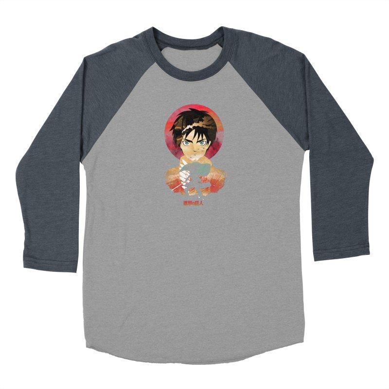 Eren Sunset Women's Longsleeve T-Shirt by dandingeroz's Artist Shop