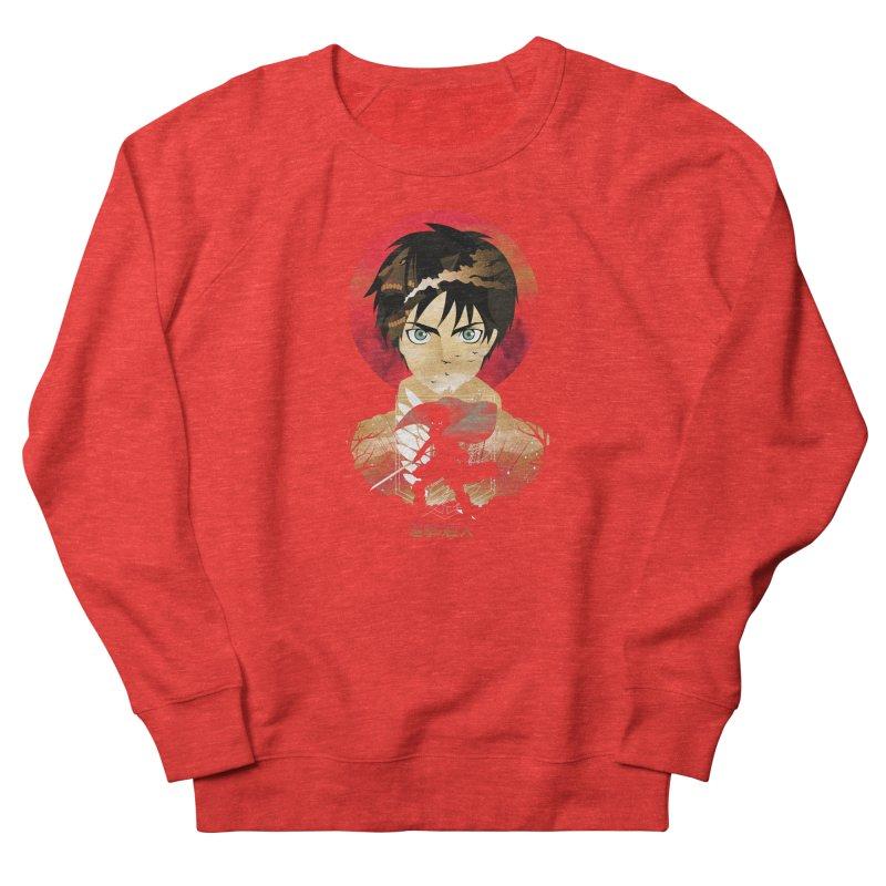 Eren Sunset Men's Sweatshirt by dandingeroz's Artist Shop