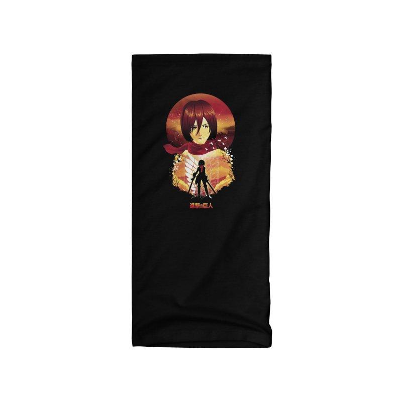 MIkasa Sunset Accessories Neck Gaiter by dandingeroz's Artist Shop