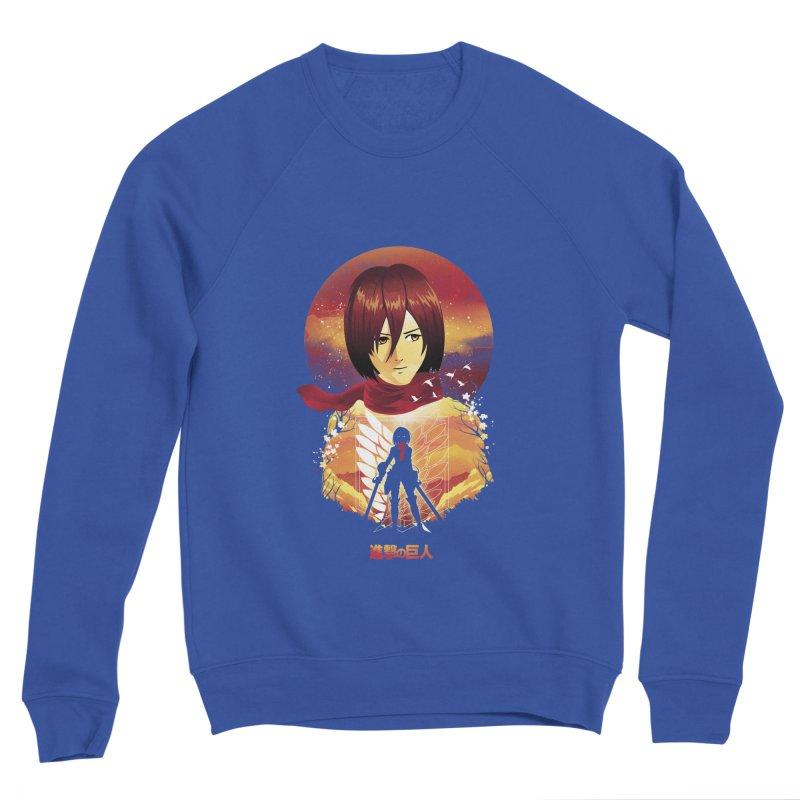 MIkasa Sunset Men's Sweatshirt by dandingeroz's Artist Shop