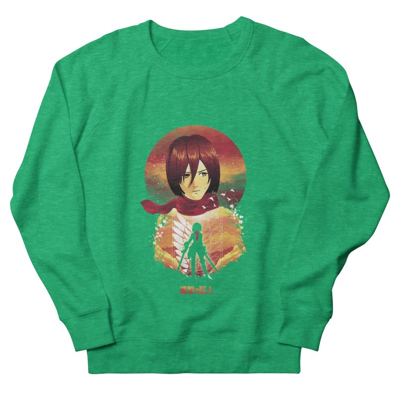 MIkasa Sunset Women's Sweatshirt by dandingeroz's Artist Shop