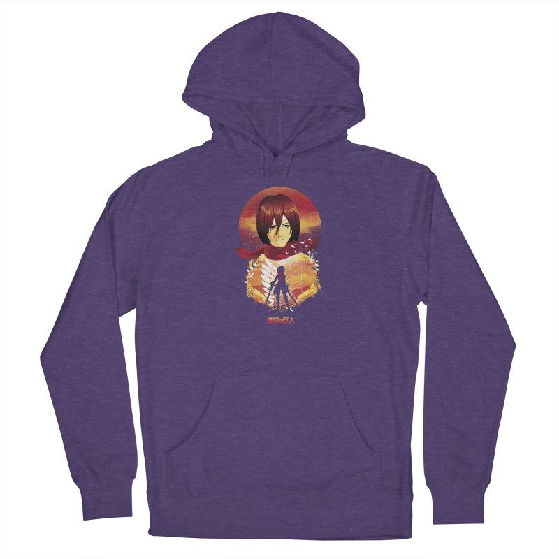 MIkasa Sunset Men's Pullover Hoody by dandingeroz's Artist Shop