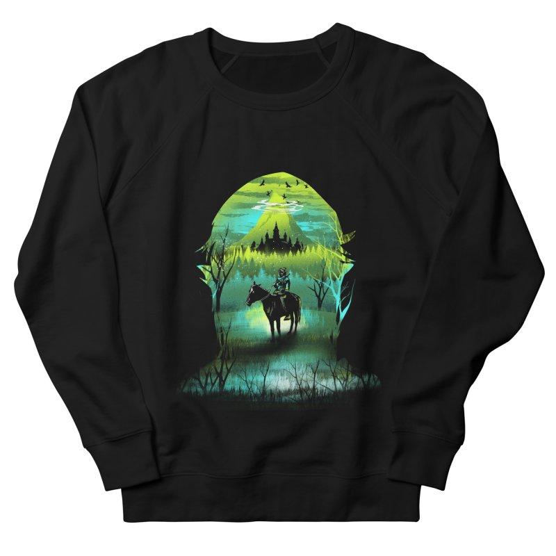 Hyrule at Night Women's Sweatshirt by dandingeroz's Artist Shop