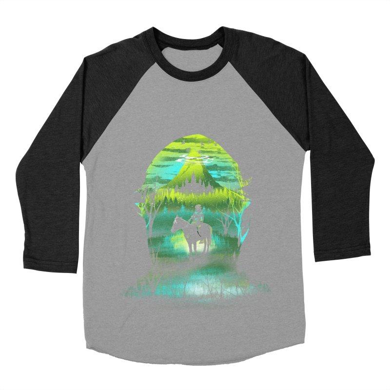 Hyrule at Night Women's Baseball Triblend T-Shirt by dandingeroz's Artist Shop