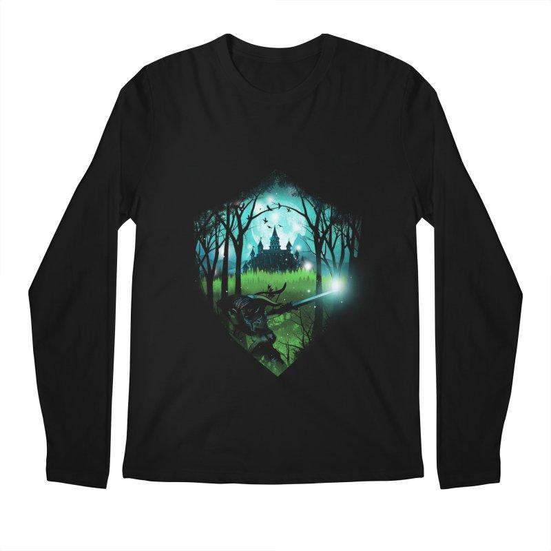 Wild Adventure Men's Longsleeve T-Shirt by dandingeroz's Artist Shop