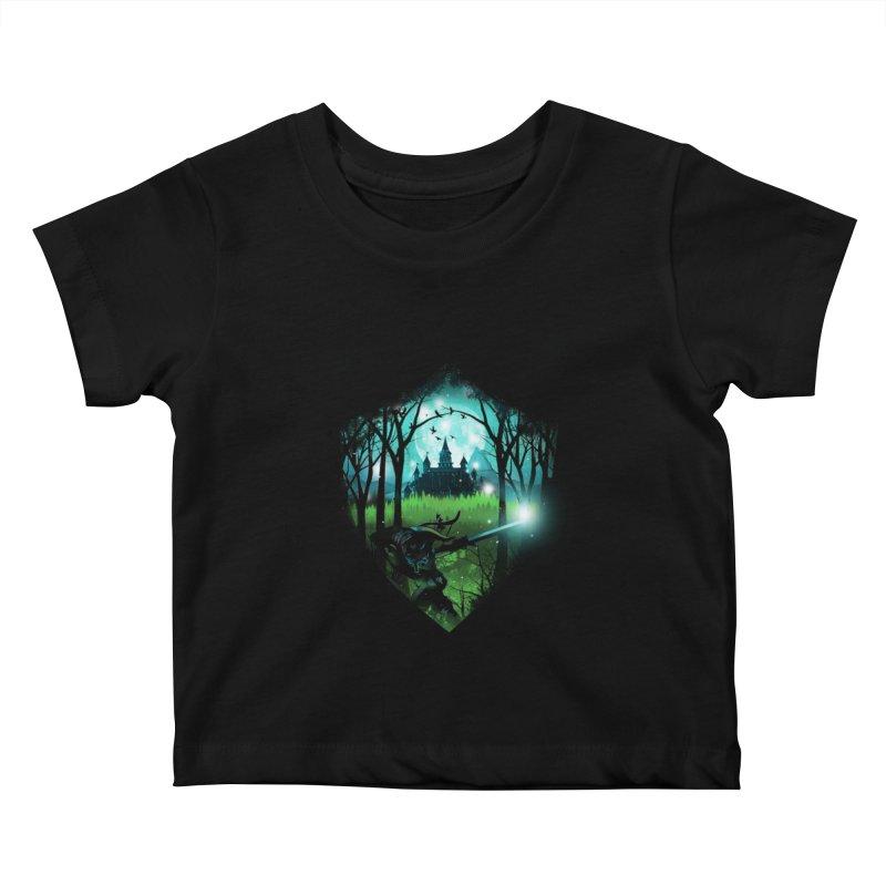 Wild Adventure Kids Baby T-Shirt by dandingeroz's Artist Shop