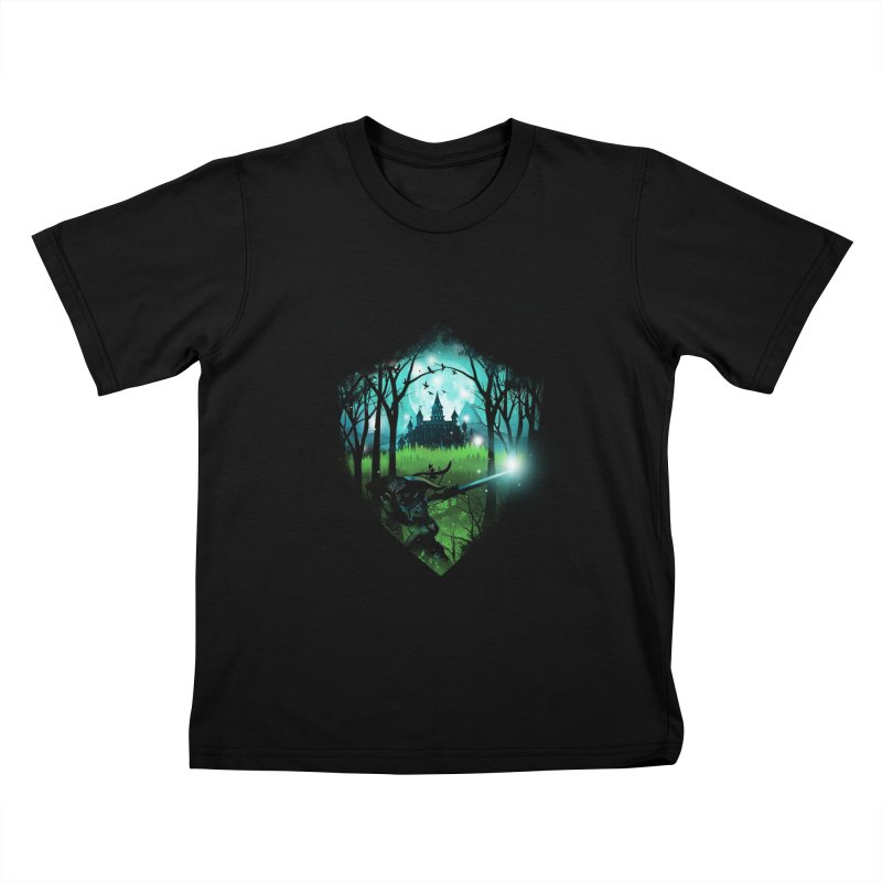 Wild Adventure Kids T-shirt by dandingeroz's Artist Shop