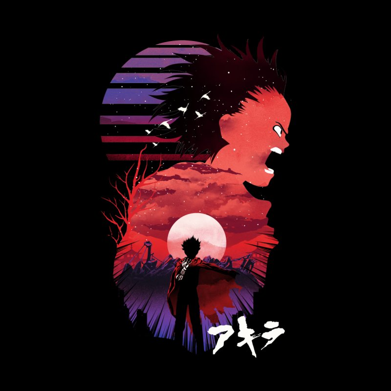Tetsuo Sunset Men's T-Shirt by dandingeroz's Artist Shop