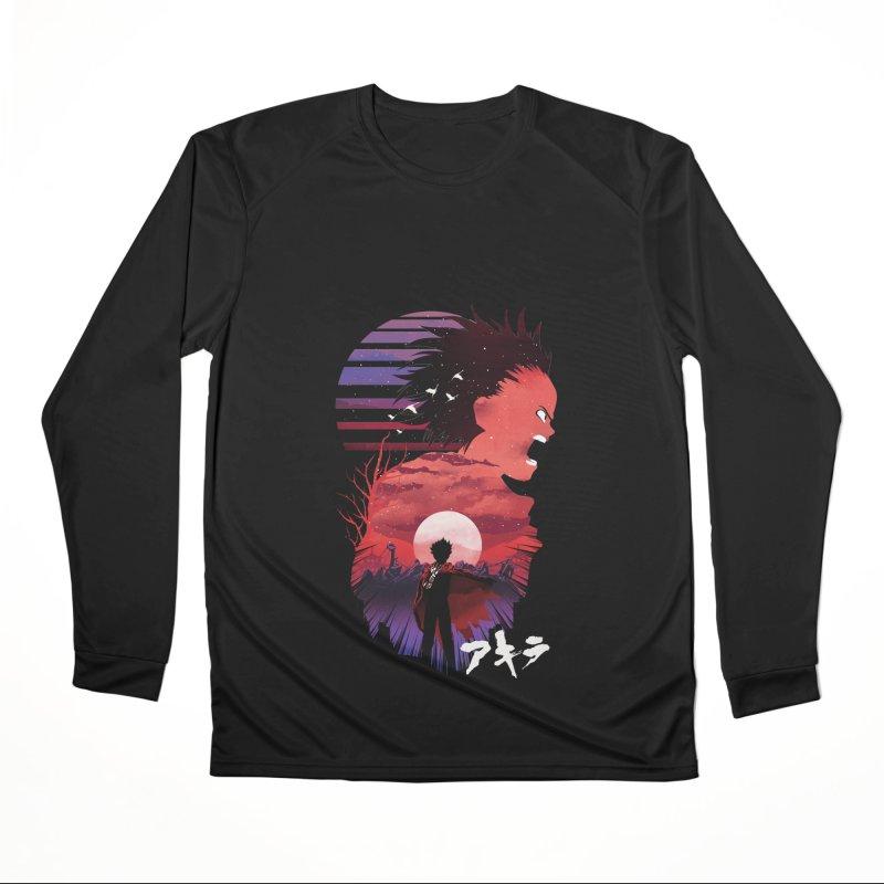 Tetsuo Sunset Women's Longsleeve T-Shirt by dandingeroz's Artist Shop