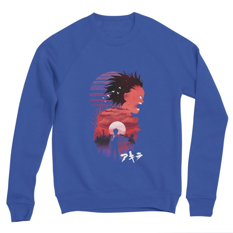 Tetsuo Sunset Women's Sweatshirt by dandingeroz's Artist Shop