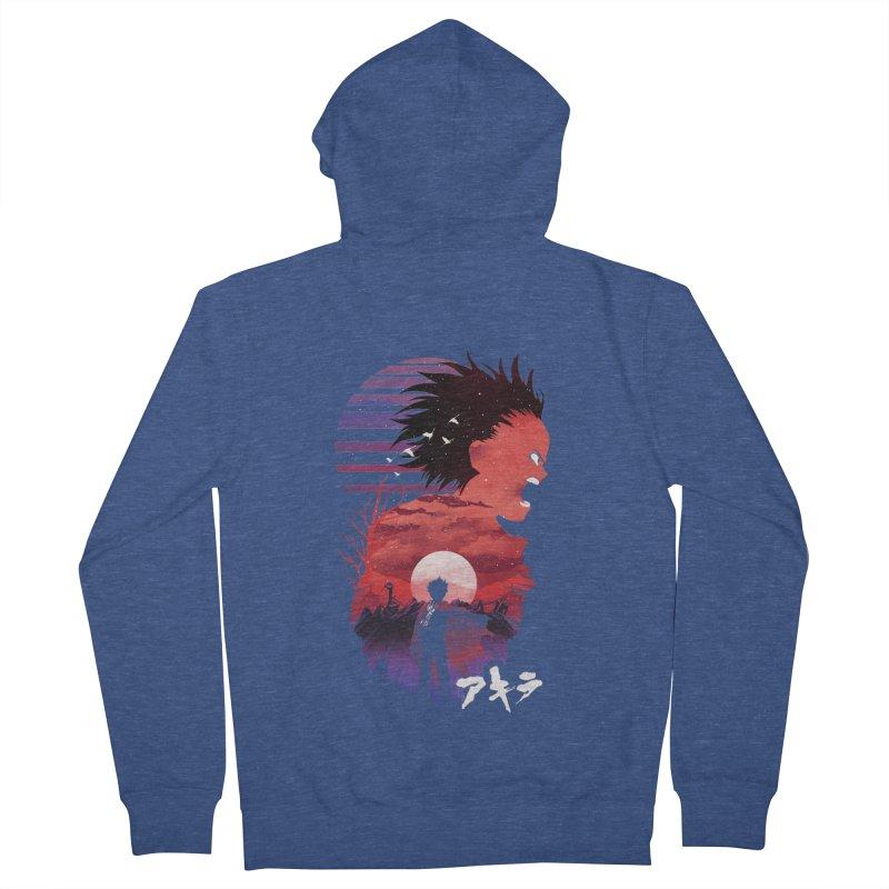 Tetsuo Sunset Men's Zip-Up Hoody by dandingeroz's Artist Shop