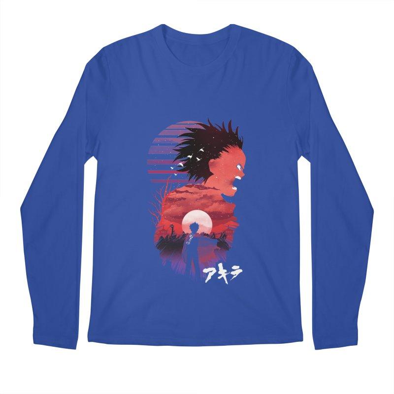 Tetsuo Sunset Men's Longsleeve T-Shirt by dandingeroz's Artist Shop