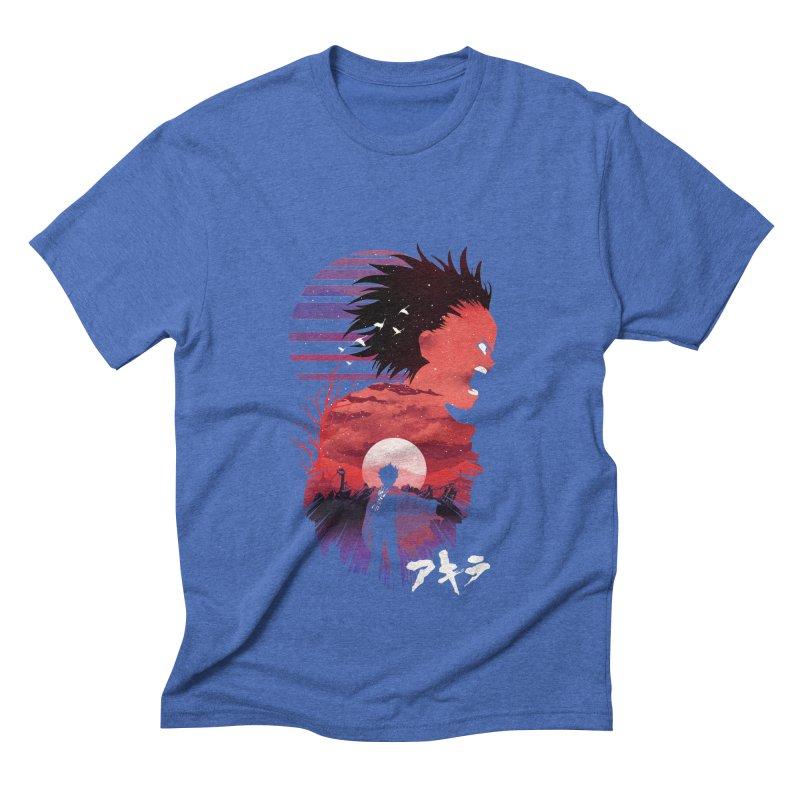 Tetsuo Sunset Men's T-Shirt by dandingeroz's Artist Shop