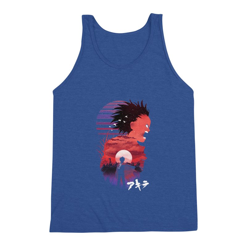 Tetsuo Sunset Men's Tank by dandingeroz's Artist Shop